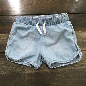 Cat & Jack Toddler Girls Denim Shorts Size 5T